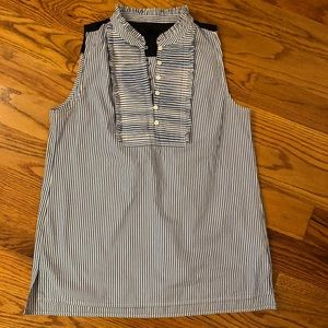 J. Crew striped sleeveless top Size 6